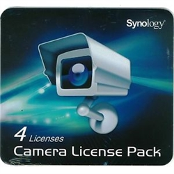 Synology Surveillance License  License Pack 4