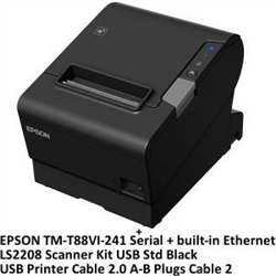 TM-T88VI USB + LS2208 USB